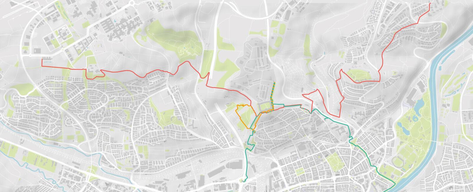 Karte für die Anreise